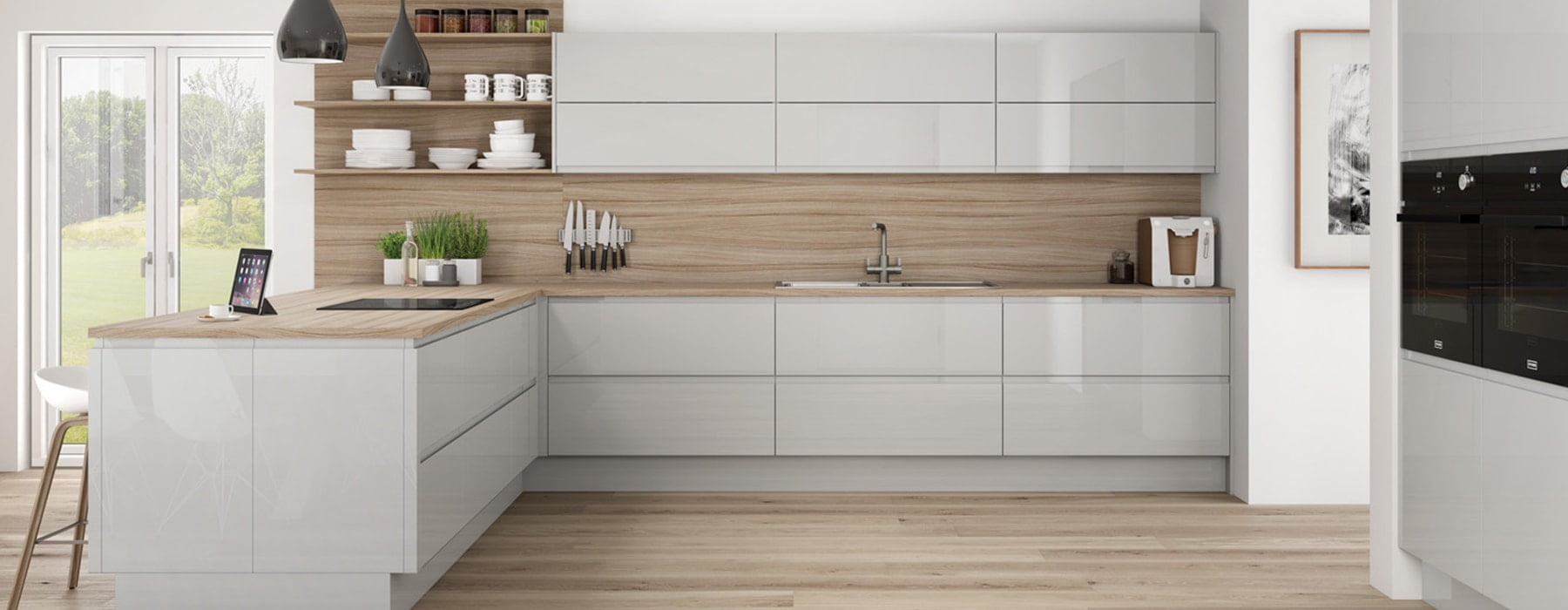 integra grey mist kitchen