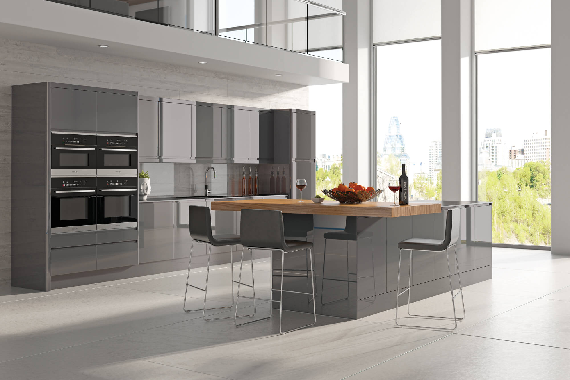 designer kitchen integra dakota sheffield