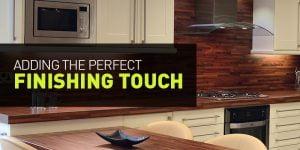 kitchen finishing touches tips blog