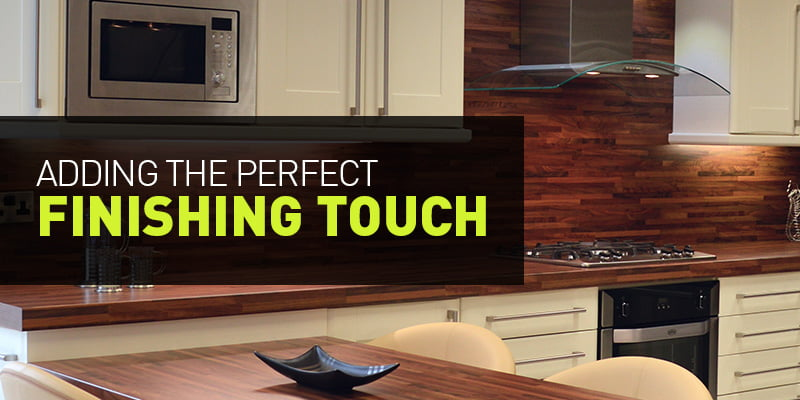 kitchen finishing touches tips blog