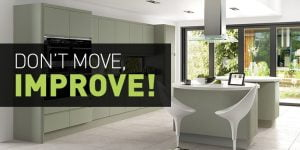 Dont move improve your kitchen Direct Kitchens