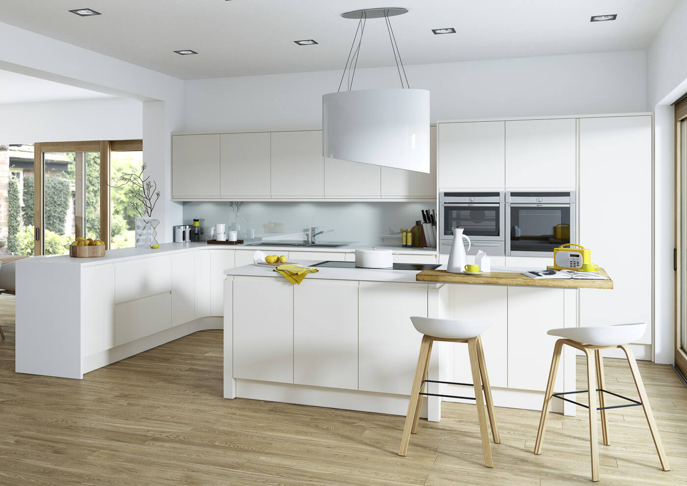 aconbury porcelain contemporary kitchen