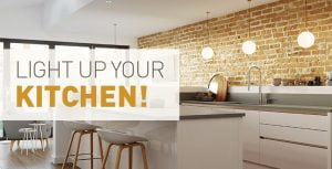 Light up your kitchen space blog, Direct Kitchens